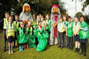 Litter pick for Kidderminster
